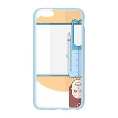 Presentation Girl Woman Hovering Apple Seamless iPhone 6/6S Case (Color)