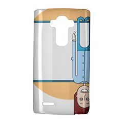 Presentation Girl Woman Hovering LG G4 Hardshell Case
