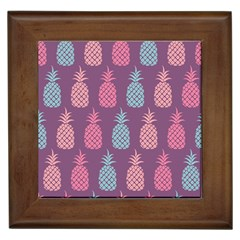 Pineapple Pattern Framed Tiles