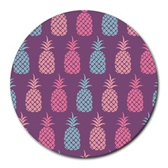 Pineapple Pattern Round Mousepads