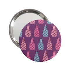 Pineapple Pattern 2.25  Handbag Mirrors