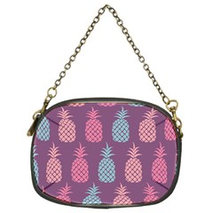 Pineapple Pattern Chain Purses (Two Sides)
