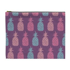 Pineapple Pattern Cosmetic Bag (XL)