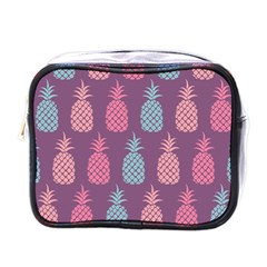Pineapple Pattern Mini Toiletries Bags