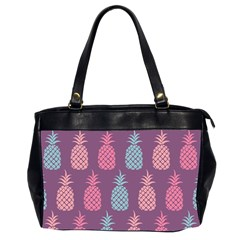 Pineapple Pattern Office Handbags (2 Sides)