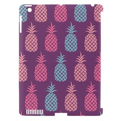 Pineapple Pattern Apple iPad 3/4 Hardshell Case (Compatible with Smart Cover)