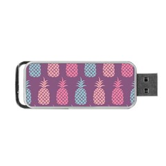 Pineapple Pattern Portable USB Flash (One Side)