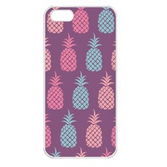 Pineapple Pattern Apple iPhone 5 Seamless Case (White)