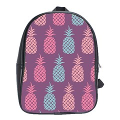 Pineapple Pattern School Bags (XL)