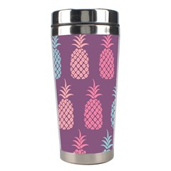 Pineapple Pattern Stainless Steel Travel Tumblers