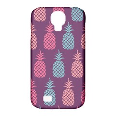 Pineapple Pattern Samsung Galaxy S4 Classic Hardshell Case (PC+Silicone)