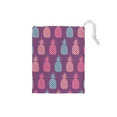 Pineapple Pattern Drawstring Pouches (Small)