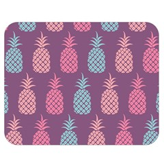 Pineapple Pattern Double Sided Flano Blanket (Medium)