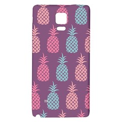 Pineapple Pattern Galaxy Note 4 Back Case