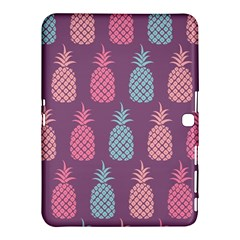 Pineapple Pattern Samsung Galaxy Tab 4 (10.1 ) Hardshell Case