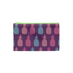 Pineapple Pattern Cosmetic Bag (XS)