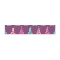 Pineapple Pattern Flano Scarf (Mini)