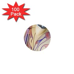 Pin Stripe Car Automobile Vehicle 1  Mini Buttons (100 pack)