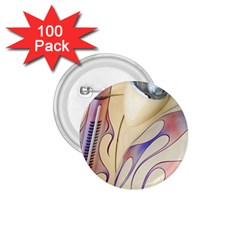 Pin Stripe Car Automobile Vehicle 1.75  Buttons (100 pack)