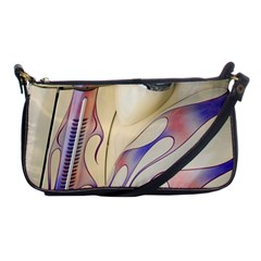 Pin Stripe Car Automobile Vehicle Shoulder Clutch Bags