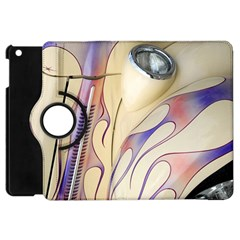 Pin Stripe Car Automobile Vehicle Apple iPad Mini Flip 360 Case