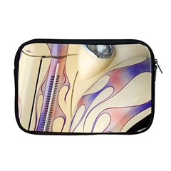 Pin Stripe Car Automobile Vehicle Apple MacBook Pro 17  Zipper Case
