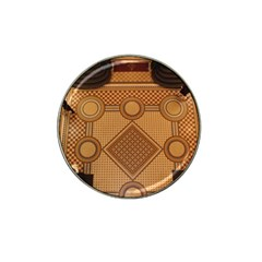 Mosaic The Elaborate Floor Pattern Of The Sydney Queen Victoria Building Hat Clip Ball Marker (4 pack)