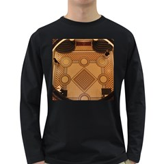Mosaic The Elaborate Floor Pattern Of The Sydney Queen Victoria Building Long Sleeve Dark T-Shirts