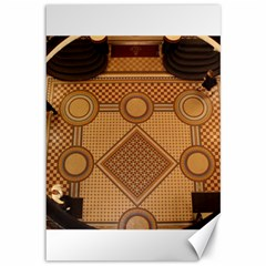 Mosaic The Elaborate Floor Pattern Of The Sydney Queen Victoria Building Canvas 12  x 18