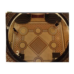 Mosaic The Elaborate Floor Pattern Of The Sydney Queen Victoria Building Cosmetic Bag (XL)