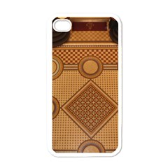 Mosaic The Elaborate Floor Pattern Of The Sydney Queen Victoria Building Apple iPhone 4 Case (White)