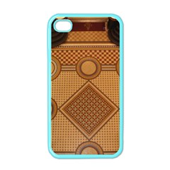Mosaic The Elaborate Floor Pattern Of The Sydney Queen Victoria Building Apple iPhone 4 Case (Color)