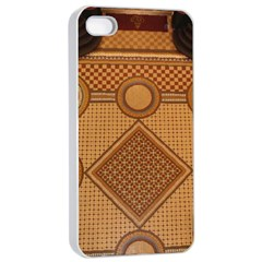 Mosaic The Elaborate Floor Pattern Of The Sydney Queen Victoria Building Apple iPhone 4/4s Seamless Case (White)