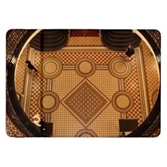 Mosaic The Elaborate Floor Pattern Of The Sydney Queen Victoria Building Samsung Galaxy Tab 8.9  P7300 Flip Case