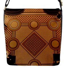 Mosaic The Elaborate Floor Pattern Of The Sydney Queen Victoria Building Flap Messenger Bag (S)