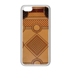 Mosaic The Elaborate Floor Pattern Of The Sydney Queen Victoria Building Apple iPhone 5C Seamless Case (White)