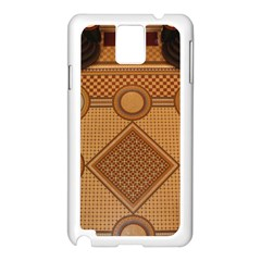 Mosaic The Elaborate Floor Pattern Of The Sydney Queen Victoria Building Samsung Galaxy Note 3 N9005 Case (White)