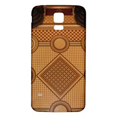 Mosaic The Elaborate Floor Pattern Of The Sydney Queen Victoria Building Samsung Galaxy S5 Back Case (White)