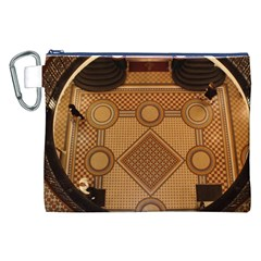 Mosaic The Elaborate Floor Pattern Of The Sydney Queen Victoria Building Canvas Cosmetic Bag (XXL)