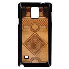 Mosaic The Elaborate Floor Pattern Of The Sydney Queen Victoria Building Samsung Galaxy Note 4 Case (Black)