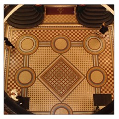 Mosaic The Elaborate Floor Pattern Of The Sydney Queen Victoria Building Large Satin Scarf (Square)