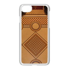 Mosaic The Elaborate Floor Pattern Of The Sydney Queen Victoria Building Apple iPhone 7 Seamless Case (White)