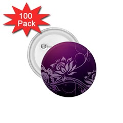 Purple Lotus 1.75  Buttons (100 pack)