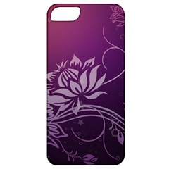 Purple Lotus Apple iPhone 5 Classic Hardshell Case