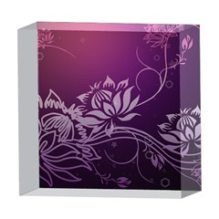 Purple Lotus 5  x 5  Acrylic Photo Blocks