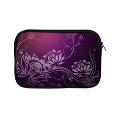 Purple Lotus Apple iPad Mini Zipper Cases