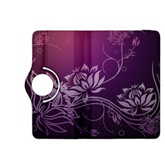 Purple Lotus Kindle Fire HDX 8.9  Flip 360 Case