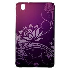 Purple Lotus Samsung Galaxy Tab Pro 8.4 Hardshell Case