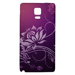 Purple Lotus Galaxy Note 4 Back Case