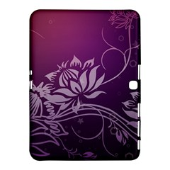Purple Lotus Samsung Galaxy Tab 4 (10.1 ) Hardshell Case